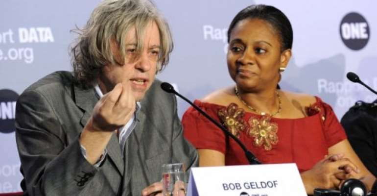 Arunma Oteh (R).  By Bertrand Guay (AFP/File)