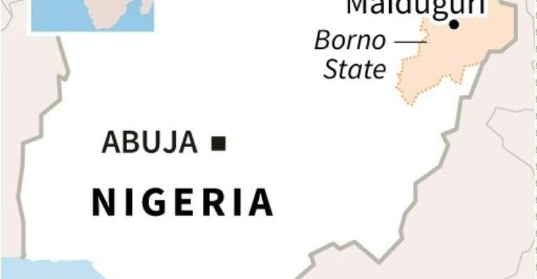 Nigerian jihadist attack.  By Sophie RAMIS (AFP/File)