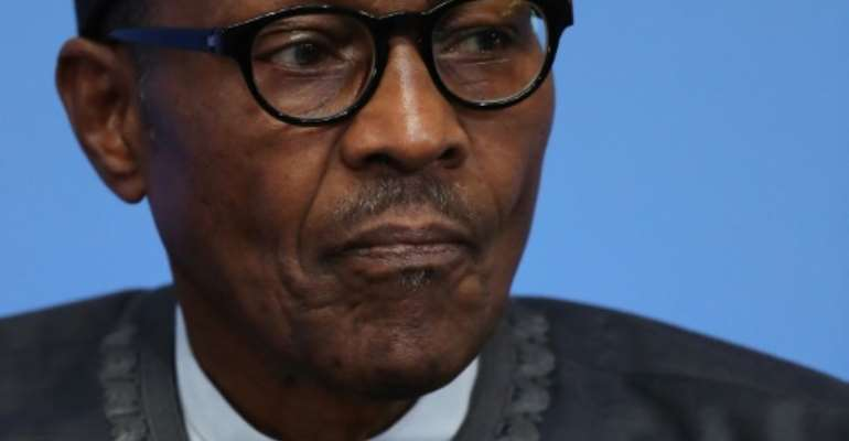 Nigerian President Muhammadu Buhari.  By Dan Kitwood (Pool/AFP/File)