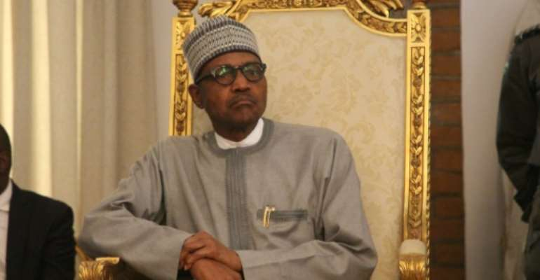 Nigerian president Muhammadu Buhari (pictured February 2020) reportedly the head of the African Development Bank that the country