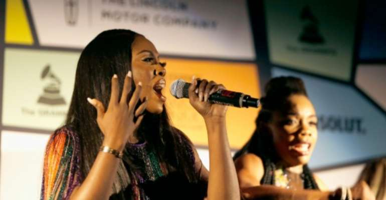 Nigerian singer Tiwa Savage announced she had cancelled a concert in Johannesburg in response to the attacks.  By Randy Shropshire (GETTY IMAGES NORTH AMERICA/AFP)