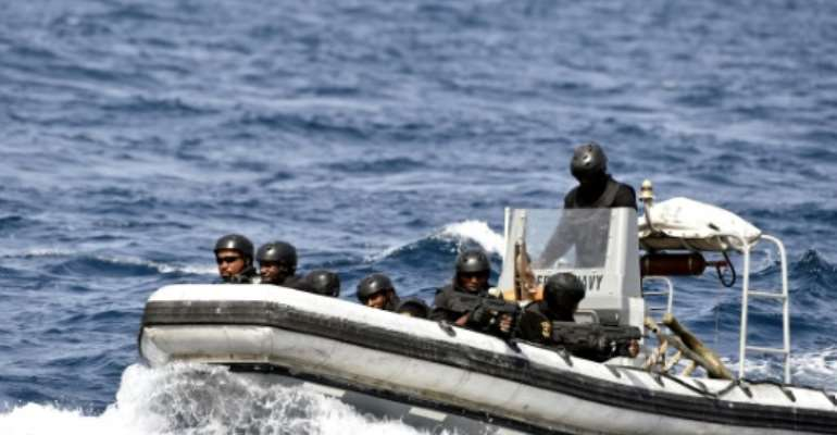 Nigerian special forces have been training to combat piracy.  By PIUS UTOMI EKPEI (AFP)