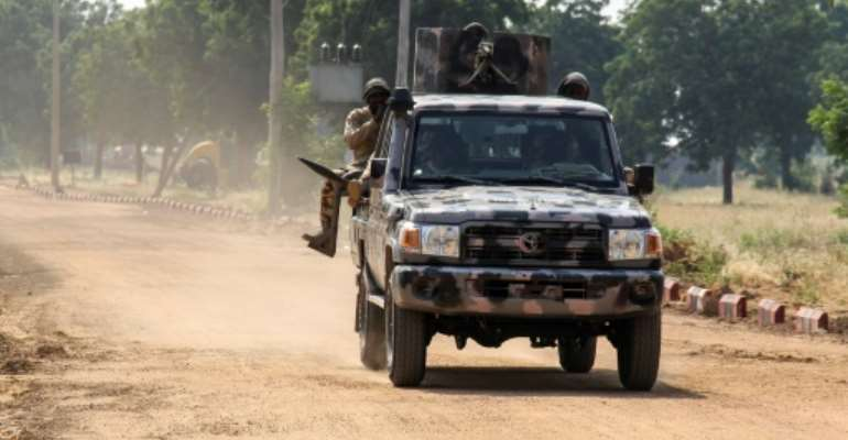 Nigeria's military has battled an insurgency by the Islamist group Boko Haram for more than a decade.  By Audu Marte (AFP)