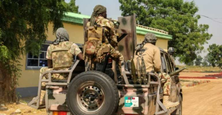 Nigeria's security forces are struggling to stem attacks by criminal gangs, known locally as bandits, and jihadists.  By Audu Marte (AFP)