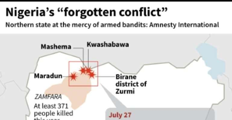 Nigeria's Zamfara state has been plagued by violent crime throughout 2018, with Amnesty International warning in July that people living in the impoverished state were