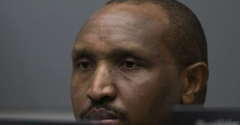 Ntaganda surrendered to the court at the US embassy in the Rwandan capital, Kigali.  By Peter DEJONG (ANP/AFP)