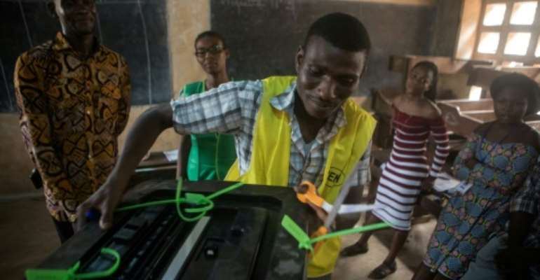 Official provisional results in the Togo election are expected early next week.  By YANICK FOLLY (AFP)