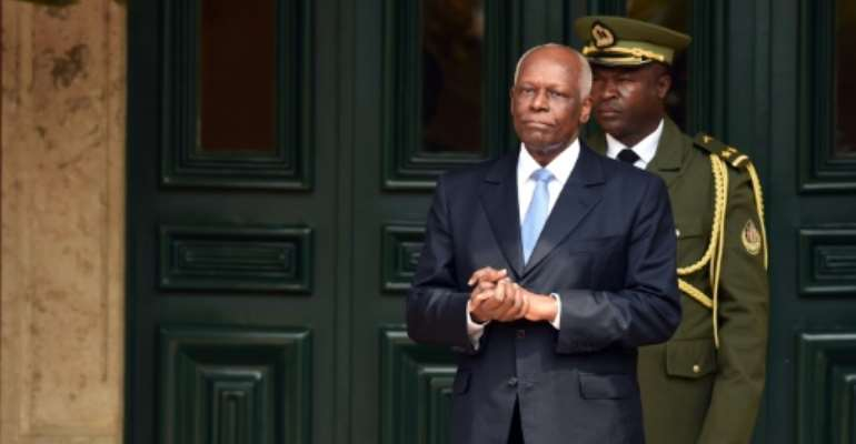 On September 20, 1979, Jose Eduardo Dos Santos took office as Angola's president after the death of the country's first post-independence leader, Agostinho Neto.  By Alain JOCARD (AFP/File)