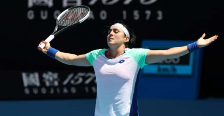 Ons Jabeur became the first player from the Arab world to reach the last eight of a Grand Slam tournament when she lost to Sofia Kenin in Melbourne.  By DAVID GRAY (AFP)