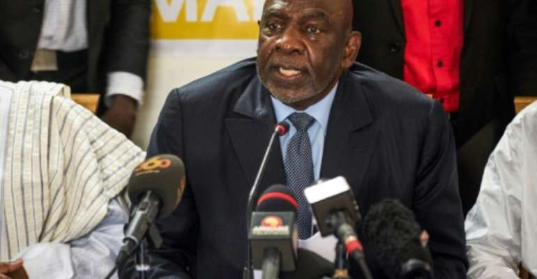 Opposition contenders Cheick Modibo Diarra (pictured) and Aliou Boubacar Diallo say they will not rally behind either runoff candidate.  By Michele CATTANI (AFP)
