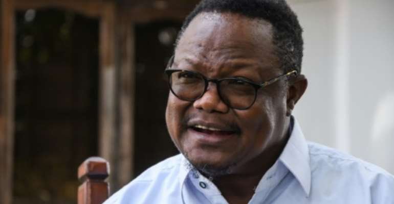 Opposition leader Tundu Lissu left Tanzania after a post-election crackdown.  By STRINGER (AFP/File)