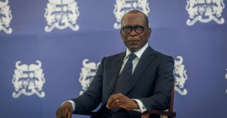 Opposition leaders say they are afraid to speak out under the rule of Patrice Talon.  By Yanick Folly, Yanick Folly (AFP/File)