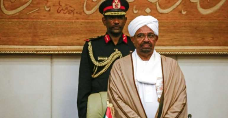 Ousted Sudanese president Omar al-Bashir (pictured March 2019) is