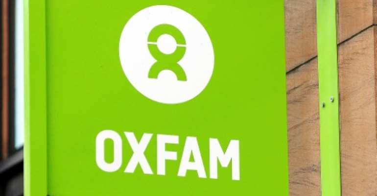 Oxfam works in 67 countries.  By Andy Buchanan (AFP/File)