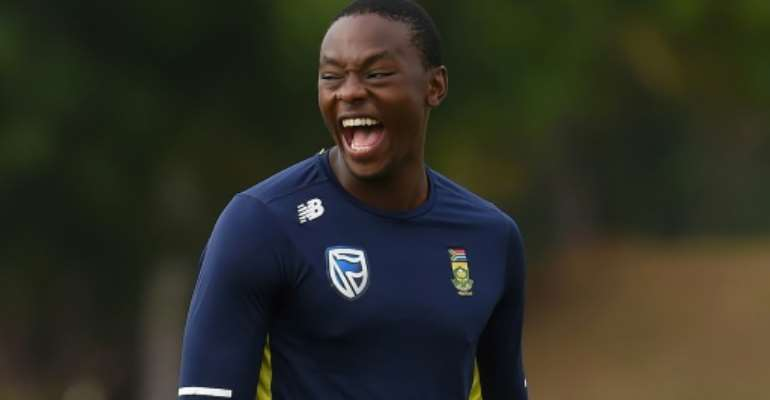Paceman Kagiso Rabada could make the difference for South Africa at the World Cup.  By ISHARA S.  KODIKARA (AFP/File)