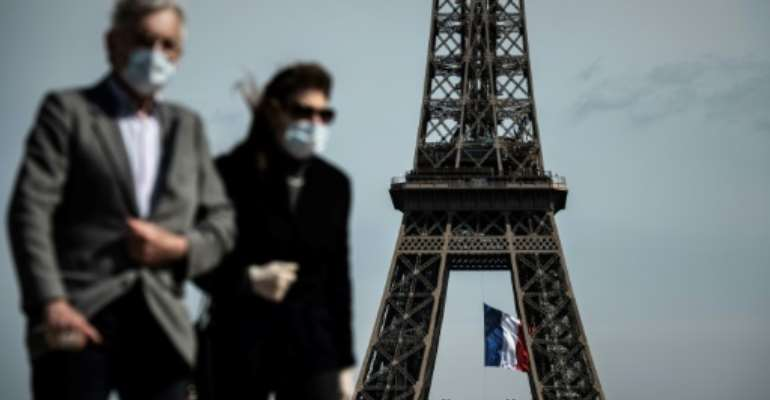 People in Paris aged 11 and over are now required to wear the masks in crowded areas and tourists hotspots.  By PHILIPPE LOPEZ (AFP/File)