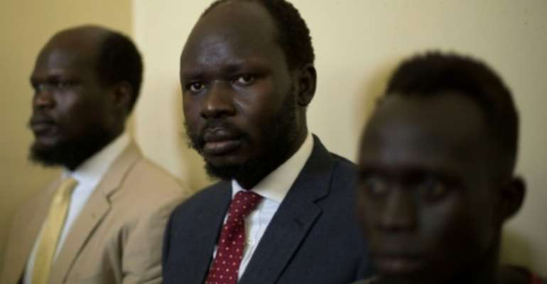 Peter Biar Ajaj has worked for the World Bank and was studying for a doctorate at Cambridge University.  By AKUOT CHOL (AFP)