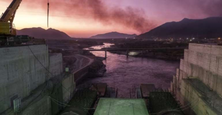 Planned as Africa's largest hydroelectric installation, the Grand Ethiopian Renaissance Dam has been a source of tension with Egypt.  By EDUARDO SOTERAS (AFP/File)