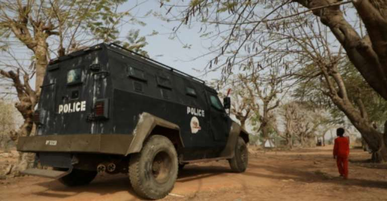 Police and the military have joined forces to search for those abducted.  By Kola Sulaimon (AFP)