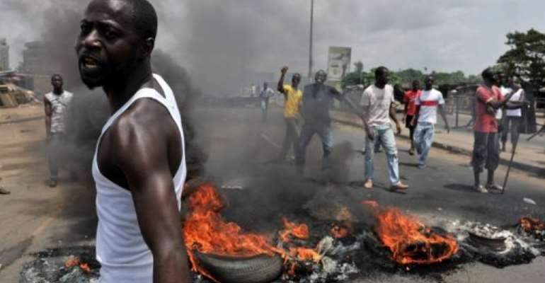 Disputed elections last November brought Ivory Coast to the brink of civil war.  By Issouf Sanogo (AFP)