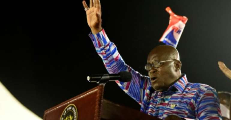 President Nana Akufo-Addo has said homosexuality will not be made legal while he is in office.  By PIUS UTOMI EKPEI (AFP)