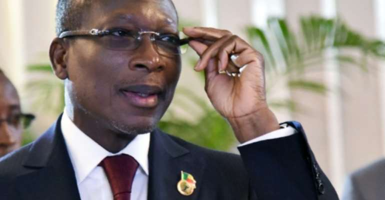 President Patrice Talon is not ill after he did not attend a west African summit June 4 or a cabinet meeting May 31.  By Sia KAMBOU (AFP)