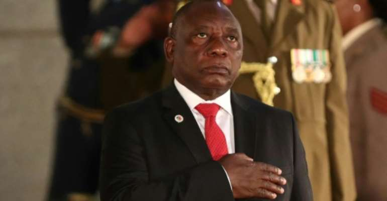 President Ramaphosa said South Africa is confronted by