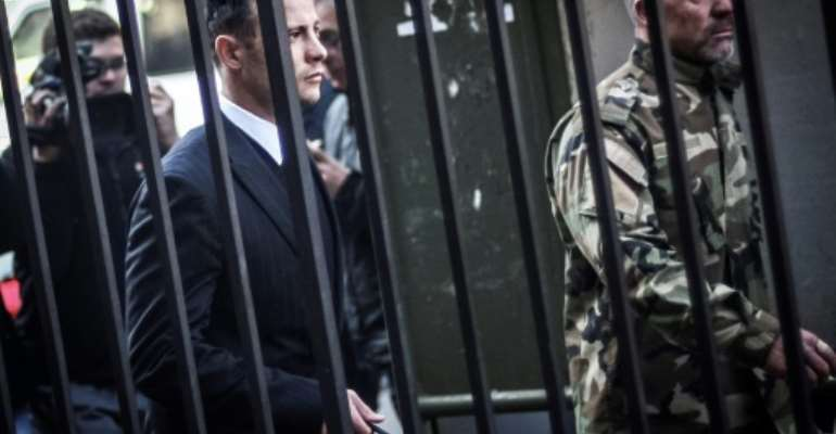 Prosecutors had argued that Pistorius failed to show genuine remorse over the killing..  By Phill Magakoe (POOL/AFP/File)