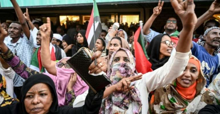 Protest leaders have called for a huge demonstration on Thursday in the capital Khartoum.  By OZAN KOSE (AFP)