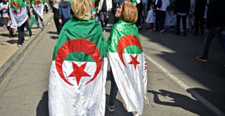 Protesters took to the streets across Algeria after veteran leader Abdelaziz Bouteflika attempted to extend his 20-year rule.  By Ryad KRAMDI (AFP)