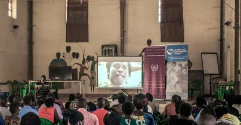 Public screenings were held in many places.  By Sumy Sadurni (AFP)