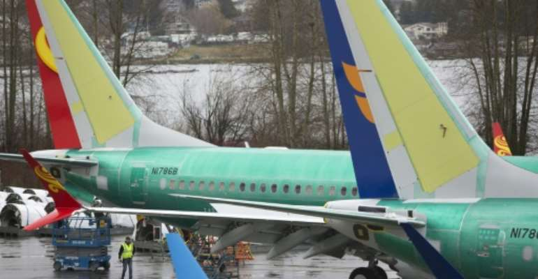 Questions have been raised about why the Boeing 737 MAX was approved so quickly, despite flaws to its flight system.  By Jason Redmond (AFP/File)