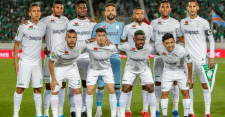 Raja Casablanca will be unable to fulfil a CAF Champions League fixture in Egypt this Saturday due to a coronavirus outbreak affecting eight players..  By STR (AFP)