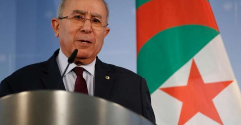 Ramtane Lamamra of Algeria has been a mediator in several African conflicts.  By Odd ANDERSEN (AFP/File)