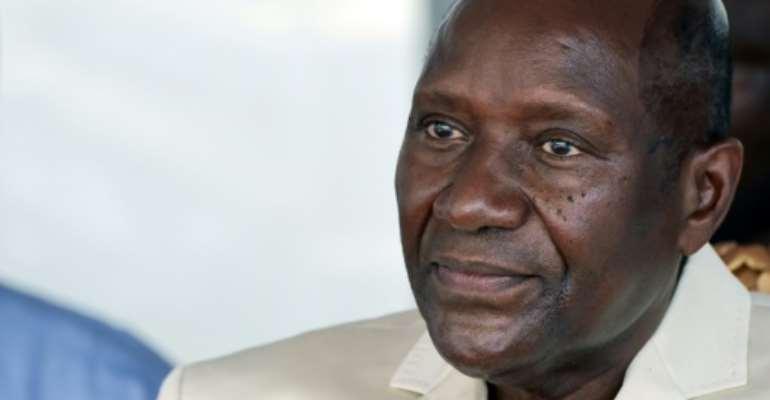 Resignation: Ivory Coast's vice president, Daniel Kablan Duncan.  By SIA KAMBOU (AFP/File)