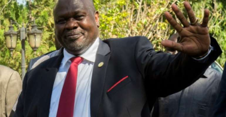 Riek Machar is a pivotal figure in South Sudan's bloody road to independence and subsequent civil war.  By Akuot Chol (AFP/File)