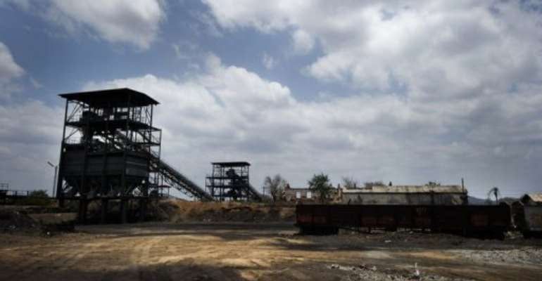 Rio Tinto and Brazil's Vale run Mozambique's only two large coal mining operations.  By Gianluigi Guercia (AFP)