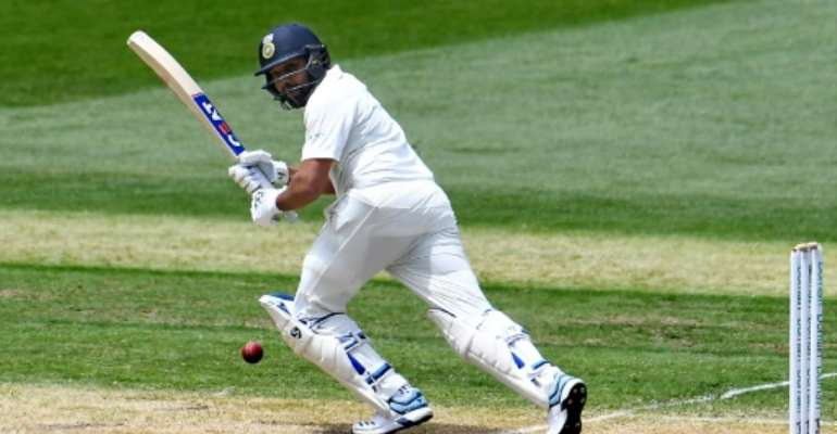 Rohit Sharma is looking to stake a claim as India's first-choice opening Test batsman.  By WILLIAM WEST (AFP/File)