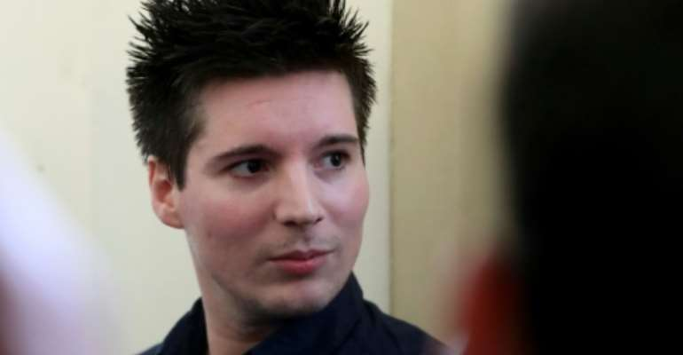 Rui Pinto is described by his lawyers as a 'very important European whistleblower'.  By FERENC ISZA (AFP/File)