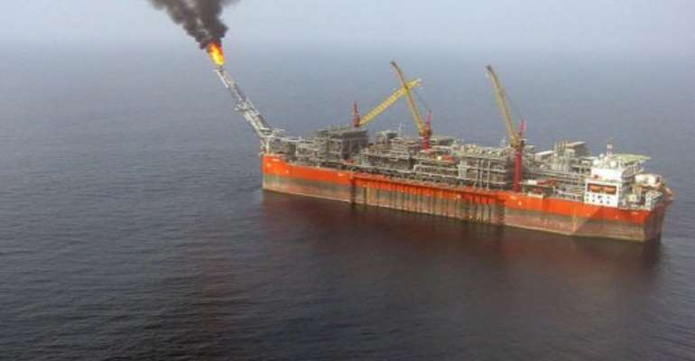 The FPSO (Floating, Production, Storage and Offloading) Bonga unit.  By Jacques Lhuillery (AFP/File)