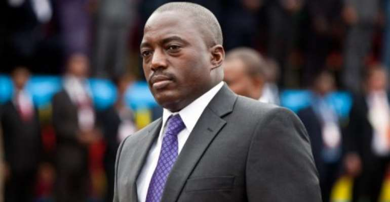 Joseph Kabila said he has also questioned Uganda over its alleged support for the rebel M23 movement.  By Gwenn Dubourthoumieu (AFP/File)