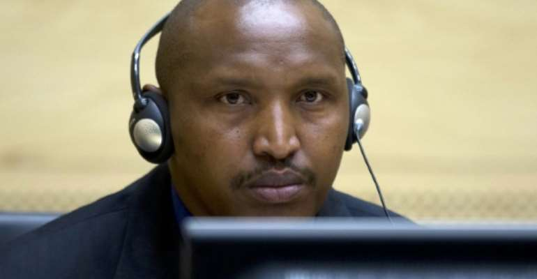Rwandan-born Congolese warlord Bosco Ntaganda faces 13 counts of war crimes and five counts of crimes against humanity at the International Criminal Court.  By PETER DEJONG (POOL/AFP)