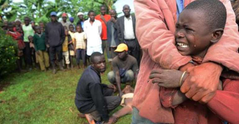 Nelson Mandela: Circumcision ceremony for teenage boys in