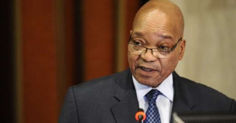 A bill of 1.5 million rand ($174,000) had been overdue.  By Stephane de Sakutin (AFP/File)