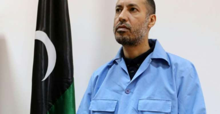 Saadi Kadhafi, son of Libya's late dictator Moamer Kadhafi, has been freed from jail.  By  (AFP)