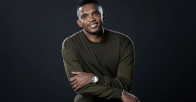 Samuel Eto'o is eyeing a move into coaching after a glorious playing career spanning two decades.  By BERTRAND GUAY (AFP)