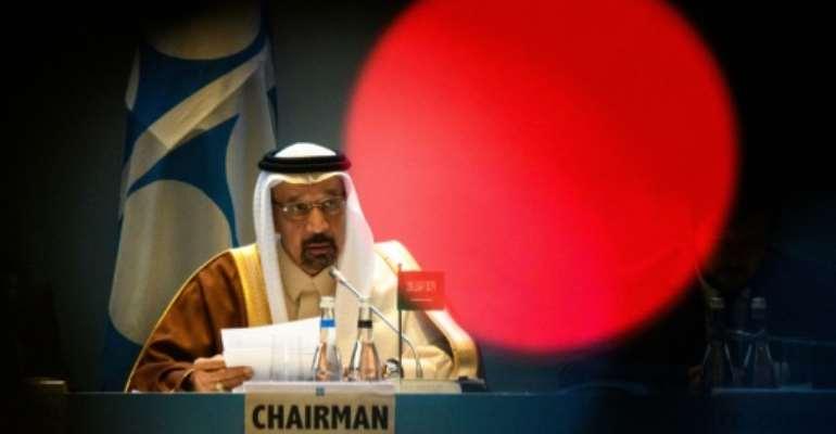 Saudi energy minister Khalid al-Falih said in Azerbaijan's capital Baku that OPEC+ countries were
