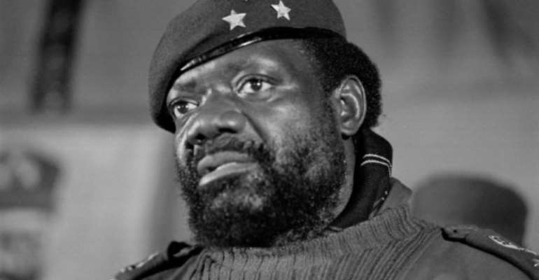 Savimbi was killed in battle in 2002.  By Gideon Mendel (AFP/File)