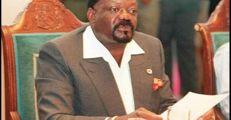 Savimbi, who fought Angola's socialist government in a 27-year civil war, was killed in a battle against state forces in February 2002.  By WALTER DHLADHLA (AFP/File)