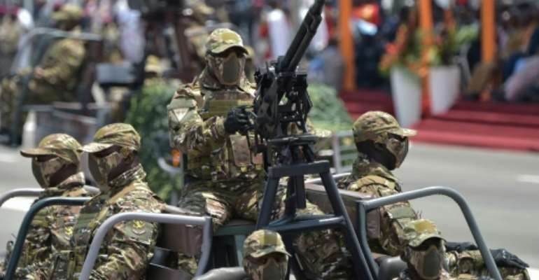 Security analysts have long worried that a jihadist revolt in the Sahel that began in Mali in 2012 is spreading towards coastal states on the Gulf of Guinea.  By SIA KAMBOU (AFP/File)